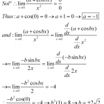 limit of function 1